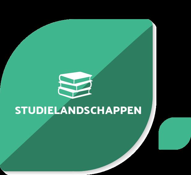 Navigatie blad studielandschappen groen