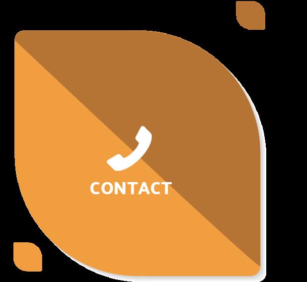 Navigatie blad contact icoon geel