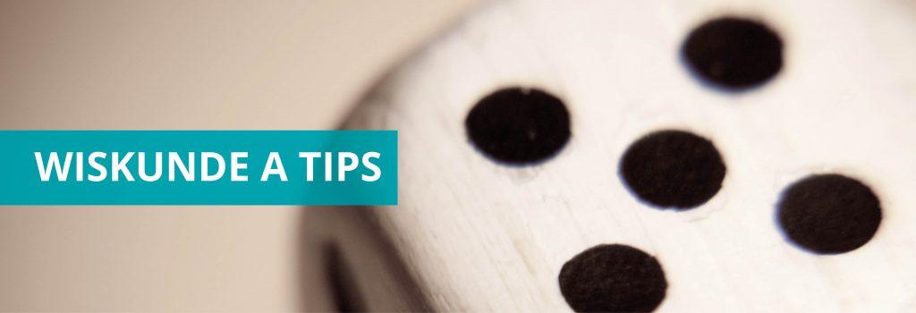 Wiskunde A tips